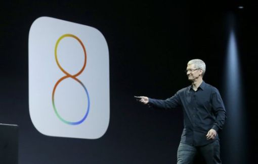 Apple removed the updated iOS operating system 8