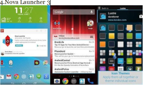 nova launcher Applications that must be Installed on Samsung Galaxy 5