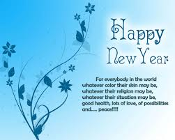 Happy New Year wishes, and Greetings