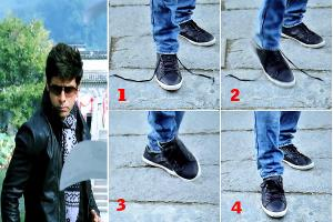 Shankar's Shoelace Trick In 'I' Movie