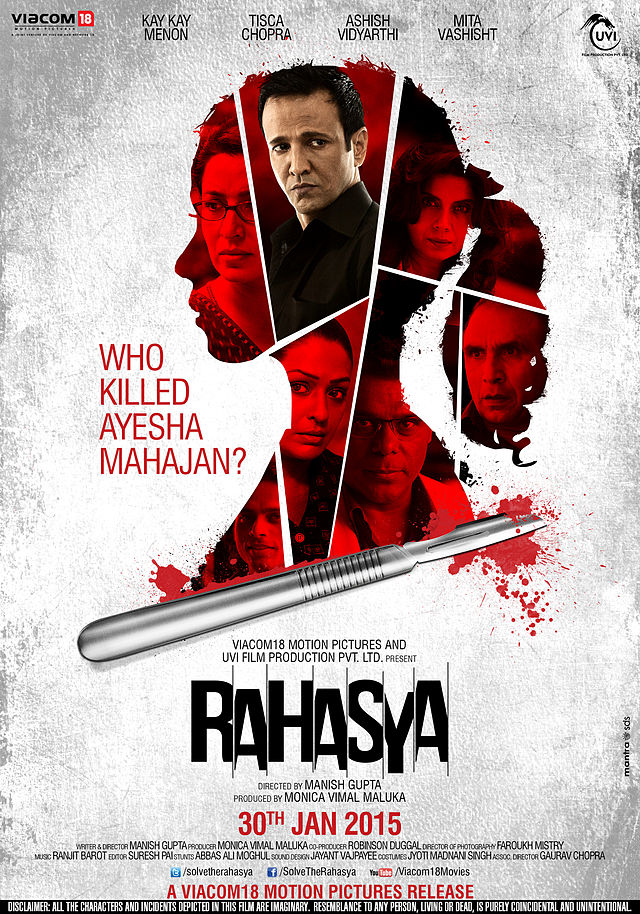 Rahasya (hindi) Movie review and rating , collections