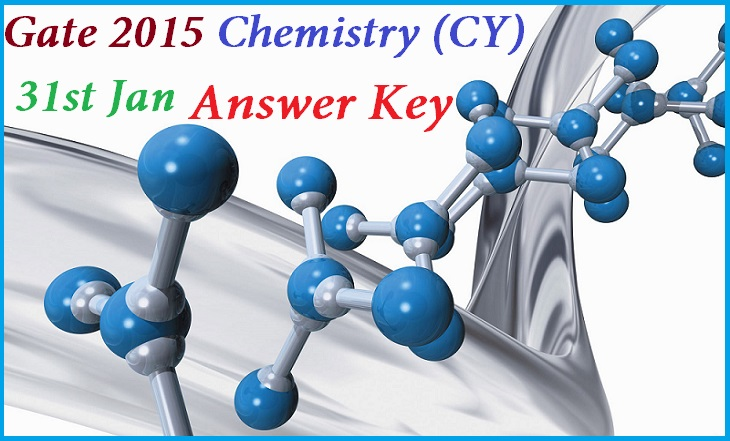 Gate Chemistry CY Answer Key 2015 Download SET A B C D Question Paper Cut off Exam Analysis by Made Easy ACE/IES Academy