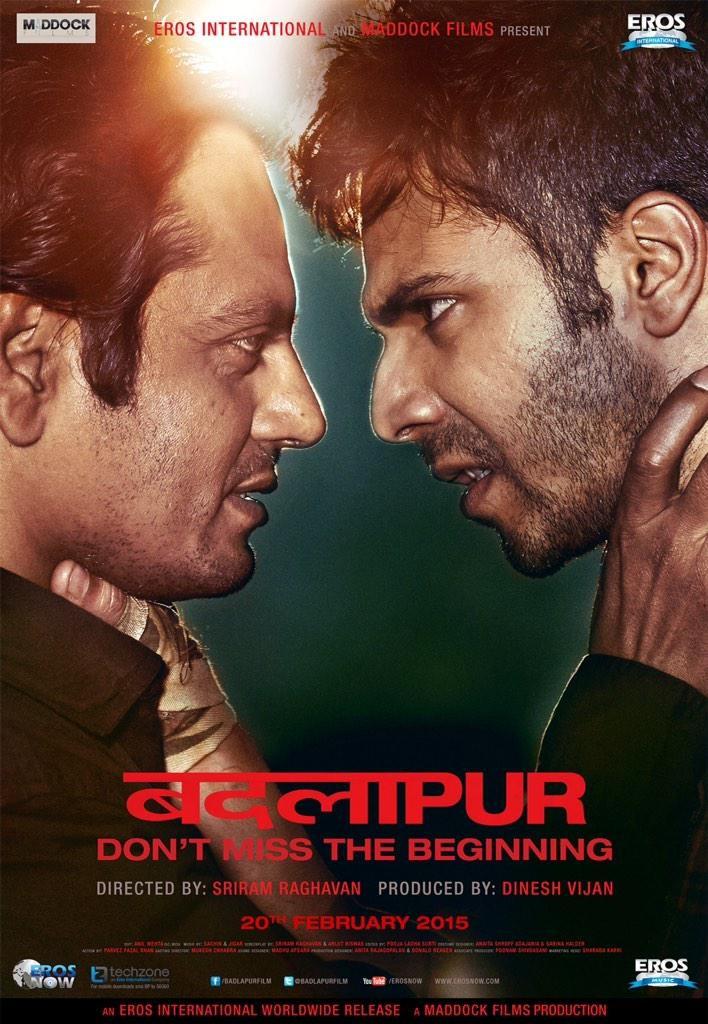 Badlapur Hindi Movie review and rating ,box office collections - varun