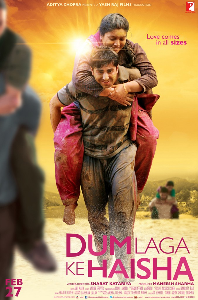 Dum Laga Ke Haisha hindi Movie review and rating - Ayushmann Khurana,Bhumi Pednekar