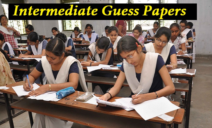Inter Guess Papers: Download Intermediate IPE 1st / 2nd Year Guess Papers