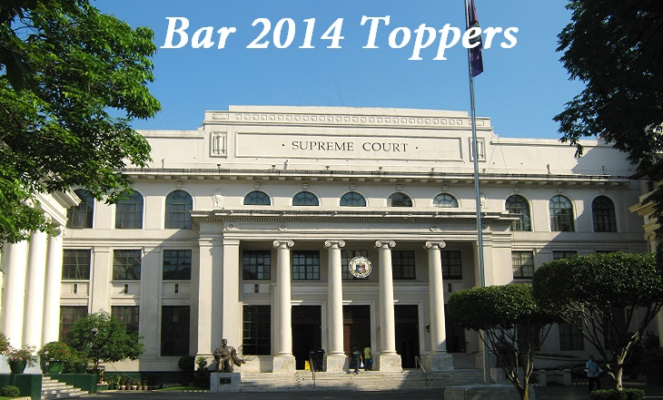 Philippine Bar Exam Results Passers Toppers October 2014