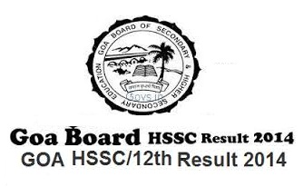 Goa Board GBSHSE SSC/10th Class Exam Results 2015