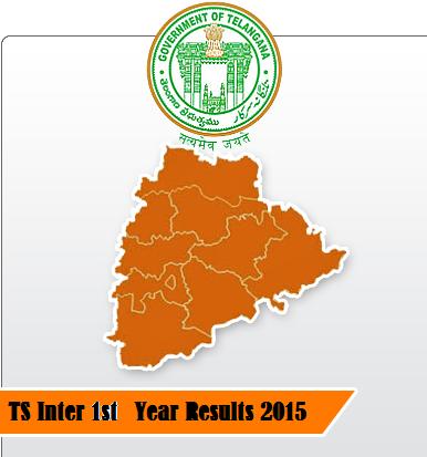 Telangana Inter 1st year results 2015 Declared