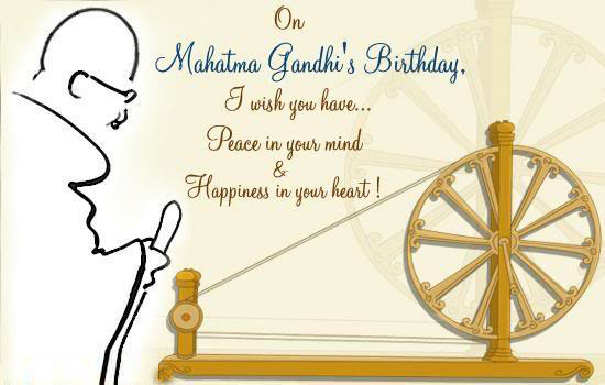Gandhi jayanti 2015 wishes ,messages,quotes, whatsapp status