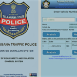 TS Traffic e challan online pay
