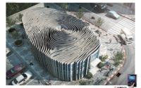 fingerprint shaped building in Thailand